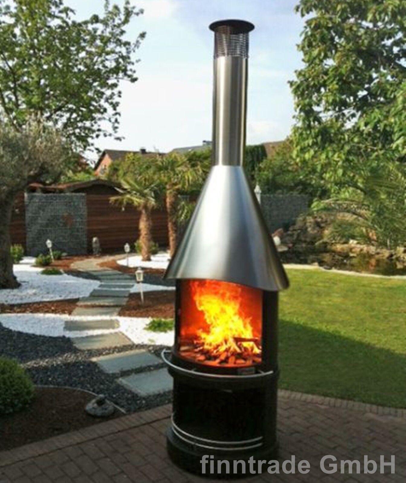 firestar design gartenkamin grill grillkamin. Black Bedroom Furniture Sets. Home Design Ideas