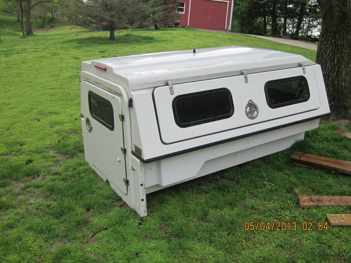 FX Body Company camper Shell for Ford Ranger Small Truck Chevy S10 Tool Box