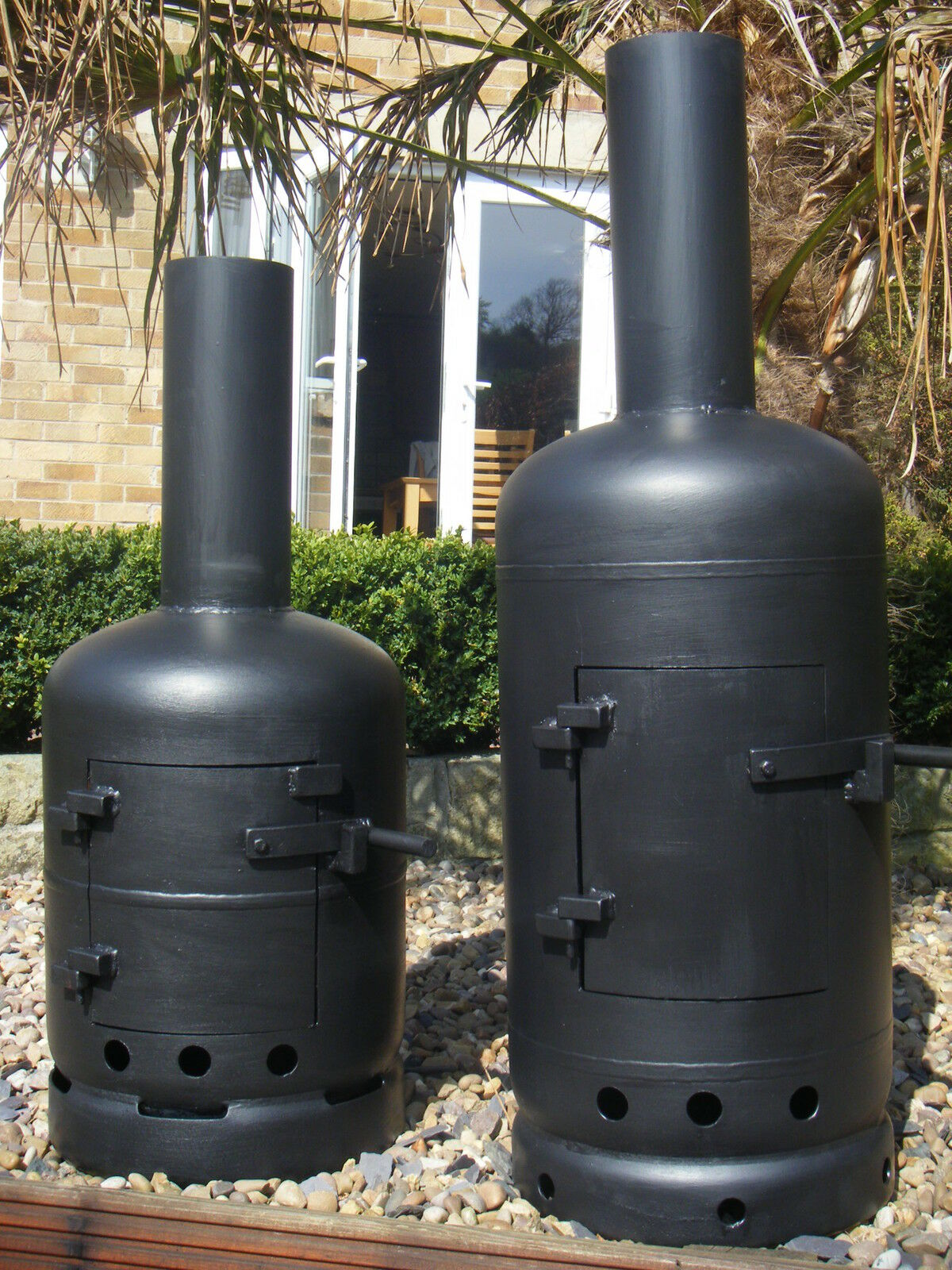 Gas Bottle Wood Burners