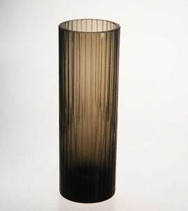 gro e ausgefallene rosenthal rauchglas vase 70er studioglas signiert ebay. Black Bedroom Furniture Sets. Home Design Ideas
