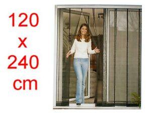 gro er 125x240 cm t r lamellen vorhang insektenschutz fliegengitter neu ebay. Black Bedroom Furniture Sets. Home Design Ideas