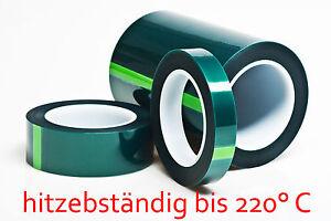 hitzebestaendiges-Abdeckband-Pulverlack-Klebeband-bis-220-C-50-mm-66-Meter