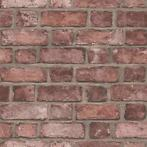 Homestyle Behang Brick Wall rood