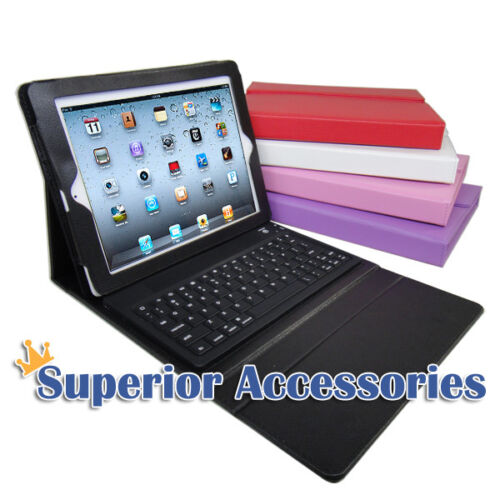 iPad 1 2 2nd 3 3rd 4 gen Retina Stand Leather Case Cover with Bluetooth Keyboard in Computers/Tablets & Networking, iPad/Tablet/eBook Accessories, Cases, Covers, Keyboard Folios | eBay