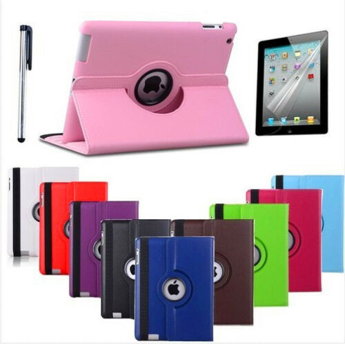 iPad 2 360 Magnetic Rotating Leather Case Smart Cover Stand Choose from 11 Color in Computers/Tablets & Networking, iPad/Tablet/eBook Accessories, Cases, Covers, Keyboard Folios | eBay
