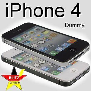 iPhone-4-Dummy-Attrappe-Handy-Muster-Nachbau-Spielzeug-S4-S3-5-Weiss-oder-Schwarz