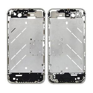 iPhone-4S-Mittelrahmen-Metallrahmen-Middle-Frame-Board-Plate-Rahmen-Mittel-Bezel