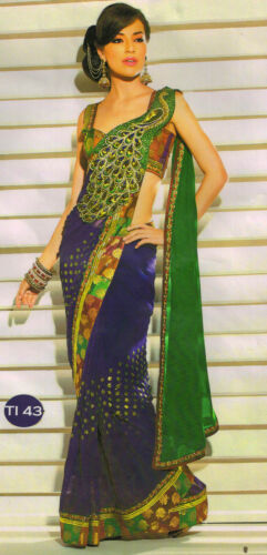 indian bollywood peacock pallu-Wedding-Collection saree sari aa ti43 AA in Clothing, Shoes & Accessories, Cultural & Ethnic Clothing, India & Pakistan | eBay