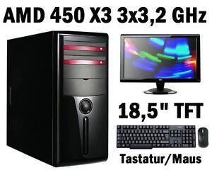 komplett-pc-mit-tft-amd-X3-3x3-2-ghz-500gb-8gb-ddr3-computer-mit-monitor-lan
