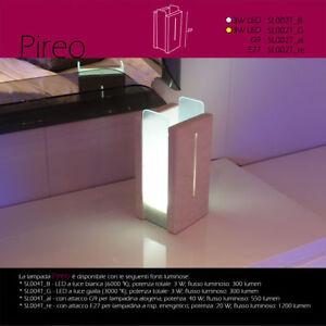 Lampada da tavolo artigianale pietra leccese tufo naturale - Lampada da tavolo artigianale ...
