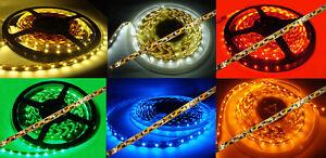 m-siehe-unten-SMD-Strip-LED-Streifen-LICHTBAND-in-versch-Laengen-u-Farben
