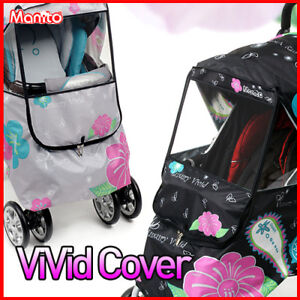 [manito] Vivid Rain cover for strollers.TOP Quality!! in Baby, Stroller Accessories | eBay