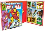 Marvel - Iron Man Retro Pin Badge Set (Merchandise)