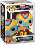 Marvel Lucha Libre Pop Vinyl: El Héroe Invicto (Iron Man)...