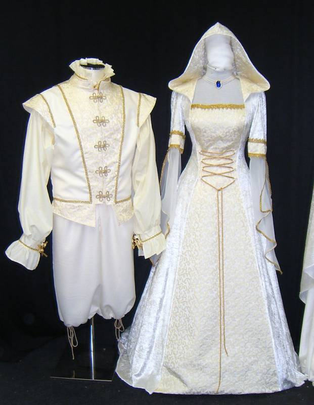 Medieval Renaissance Handfasting Wedding Dress Custom