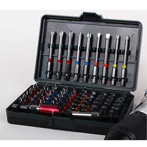 metabo screwdriver bit set 71piece s2 steel for long life 1 4 hex shank ebay. Black Bedroom Furniture Sets. Home Design Ideas