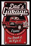 Metalen Wandbord - Dad's Garage Expert Service & Repairs