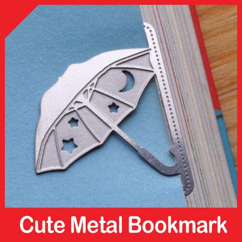 mini metal UMBRELLA girl's summer bookmark silver color for gift korean fashion in Books, Accessories, Bookmarks | eBay