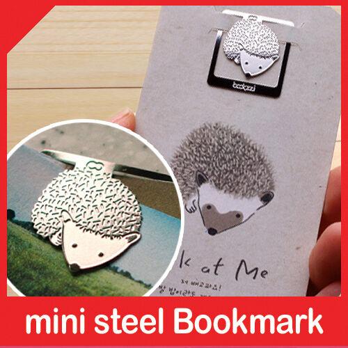 mini metal bookmark HEDGEHOG my cute pet book accessory clip type korea fashion in Books, Accessories, Bookmarks | eBay