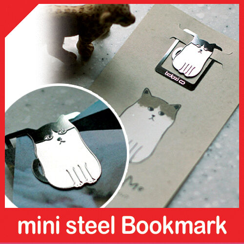 mini metal bookmark KITTY my cute pet book accessory clip type korea fashion in Books, Accessories, Bookmarks | eBay