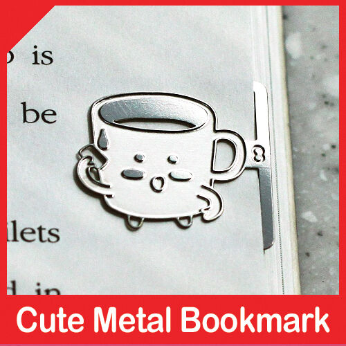 mini metal bookmark MUGY of Kitchen Family book accessory cookware for cook in Books, Accessories, Bookmarks | eBay