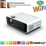 Mini Video Projecteur Vidéo LED HD Mini 4500 Lumens WiFi /