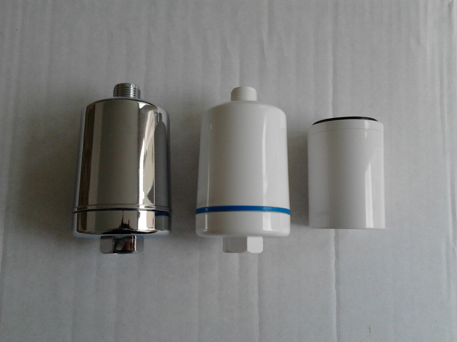 multi listing inline shower water filter ebay. Black Bedroom Furniture Sets. Home Design Ideas