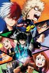 My Hero Academia Group Poster 61x91,5cm