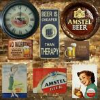 Nieuw Bier reclameborden cafe reclamebord bar decoratie