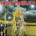 overigen - Iron Maiden First Album 40 x 40cm Canvas, Multi..