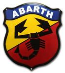Plaque emaillee Abarth