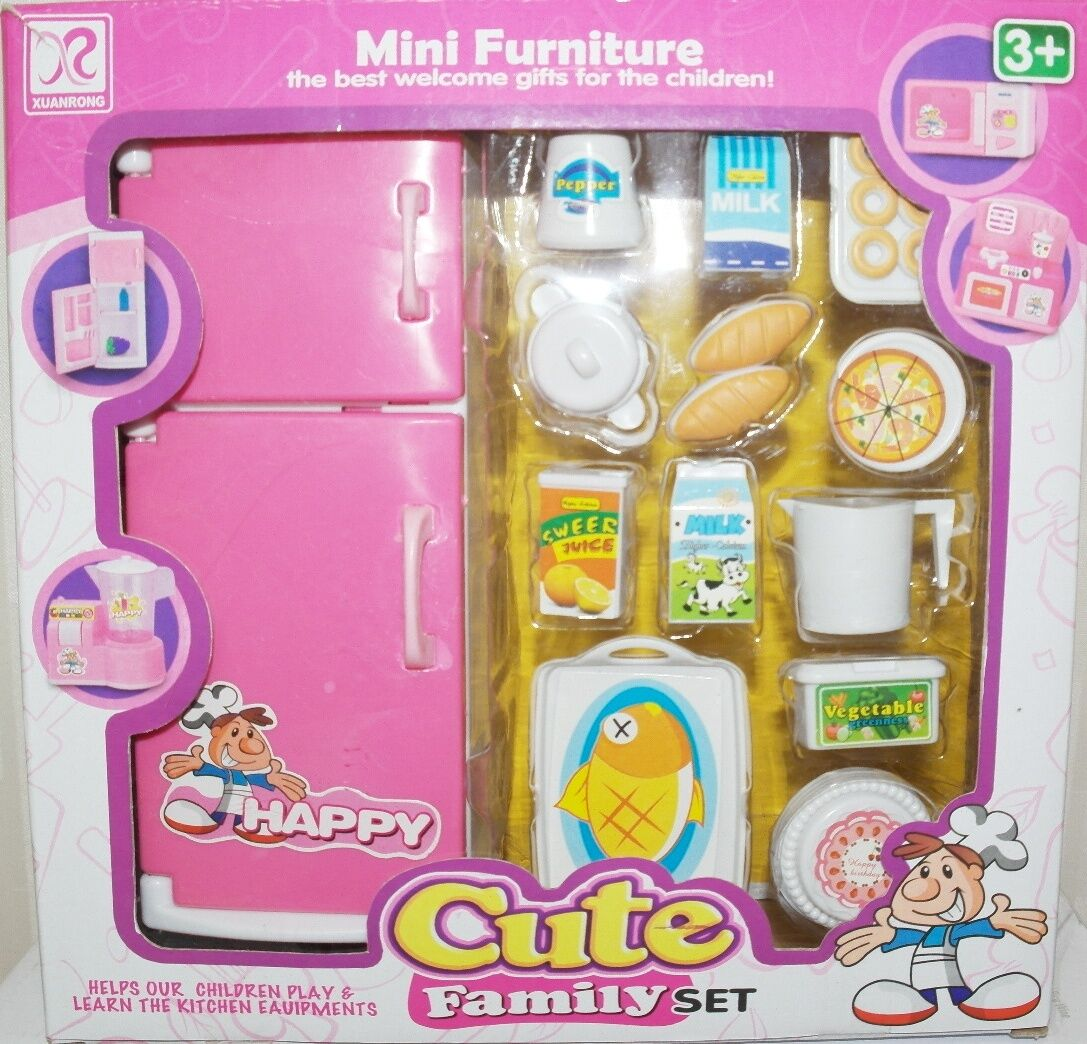 Pretend Kid Play Kitchen Set Barbie Size Doll Furniture Cooking Food Set For Kid On Popscreen