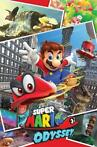 Pyramid Super Mario Odyssey Collage Poster 61x91,5cm