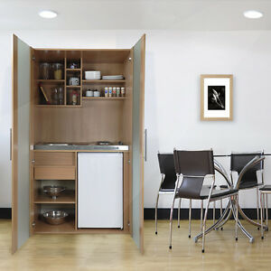 respekta single b ro pantry schrank k che minik che schrankk che buche ebay. Black Bedroom Furniture Sets. Home Design Ideas