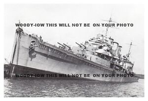 rp10299-UK-Royal-Navy-Warship-HMS-Suffolk-after-air-attack-1940-photo-6x4
