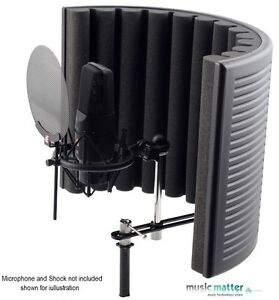 se electronics rf x reflexion filter x portable vocal booth best value booth ebay. Black Bedroom Furniture Sets. Home Design Ideas