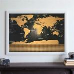 Scratch Off World Map Interactive Vacation Poster World T...