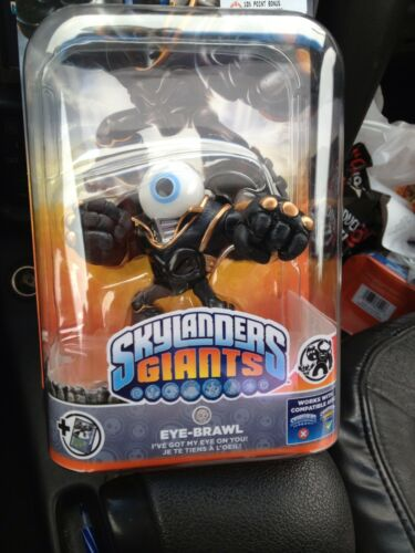 skylanders giants!!! eye brawl!! extremely rare! new in box! in Toys & Hobbies, Action Figures, TV, Movie & Video Games | eBay