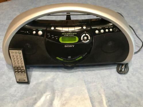 SONY radio-en CD speler Atrac3plus MP3