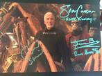 Star Wars - Lot of 3 photos, signed by 5 actors from the SW