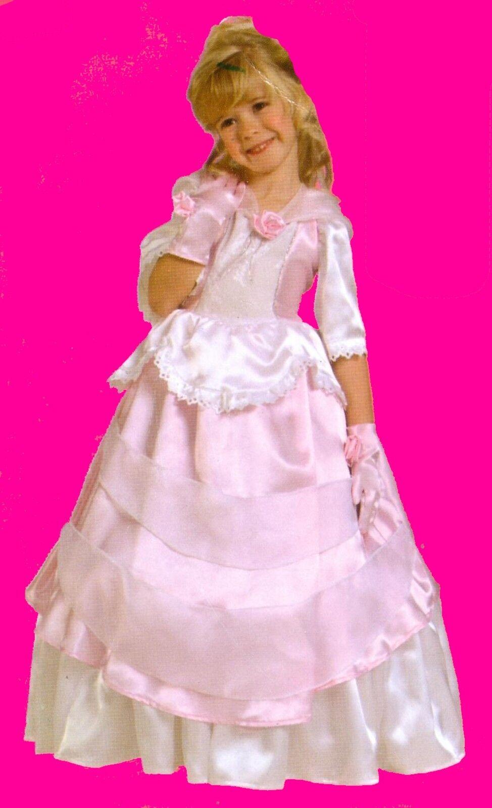 s es kinder kost m prinzessin sissy kleid m dchen rosa. Black Bedroom Furniture Sets. Home Design Ideas