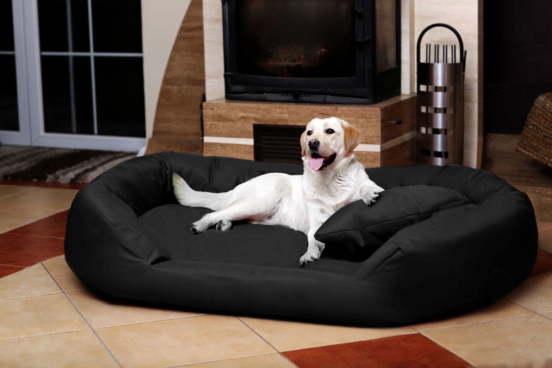 lit pour chien maddox visco ortho par tierlando en faux. Black Bedroom Furniture Sets. Home Design Ideas