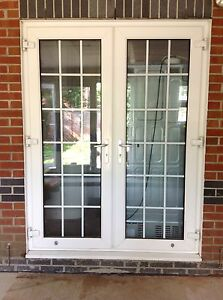 upvc french doors georgian style ebay