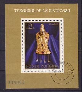 v490-Rumaenien-Goldkunst-MiNr-Block-107-o