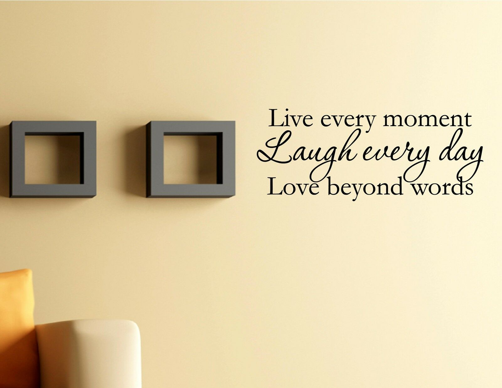 Next Wall Art Stickers Quotes : Vinyl wall decal quotes