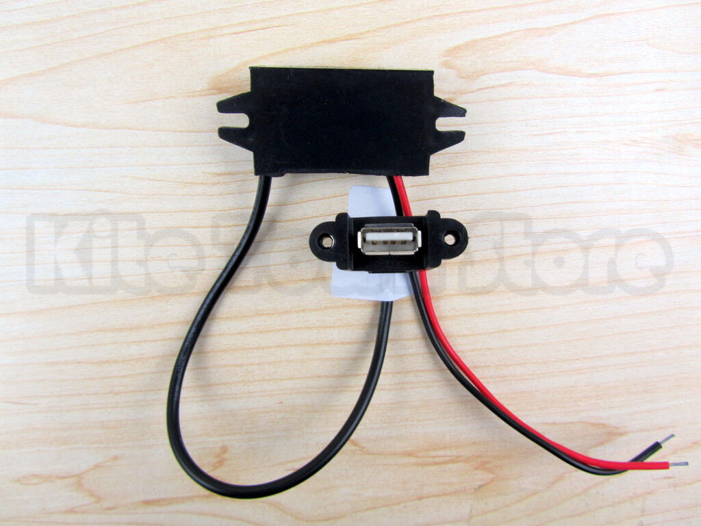 How To Have Power Supply For Nuvi On My Dirt Bike Tomtom Go Charger Wiring Diagram Buy This One Poonly 1000 Waterproof Dc Converter Regulator 12v Step Down 5v 15w 3a Female Usb Hole