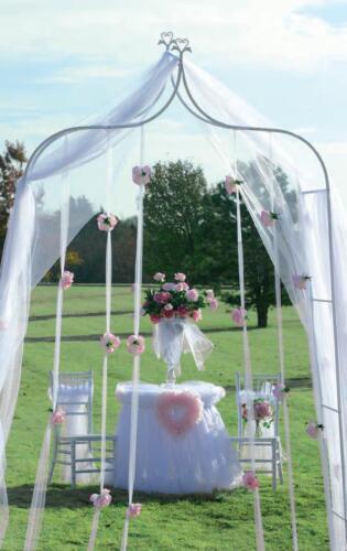 white heart peaked WEDDING ARCH indoor/outdoor wedding decor in Home & Garden, Wedding Supplies, Decorations | eBay