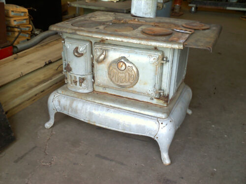 wood cookstove OTHELLO in Antiques, Home & Hearth, Stoves | eBay