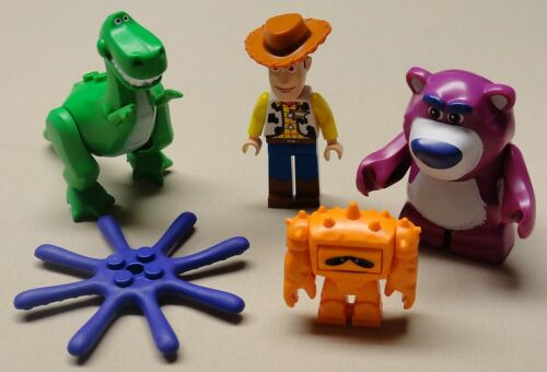 x4 NEW Lego Toy Story Minifigs WOODY CHUNK Bear Lotso Dino Rex & Octopus Legs in Toys & Hobbies, Building Toys, LEGO | eBay