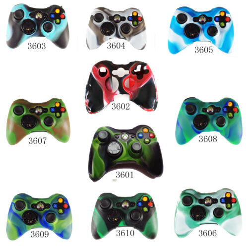xbox 360 camouflage Silicone Skin Case Cover for XBOX 360 Xbox360 Controller in Video Games & Consoles, Other | eBay